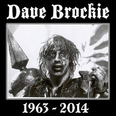 Dave Brockie Gwar 1963-2014 photo