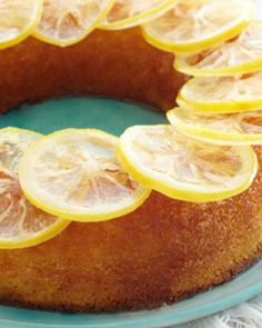 Sweet Paul's Lemon Olive Oil Cake