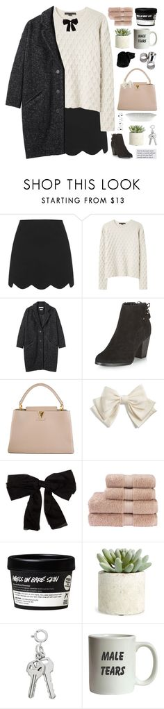 """""""put a bow on it!"""" by lush-p0ints ❤ liked on Polyvore featuring Topshop, Alexander Wang, Étoile Isabel Marant, New Look, Louis Vuitton, Cara, Yves Saint Laurent, Christy, Allstate Floral and MTWTFSS Weekday"""