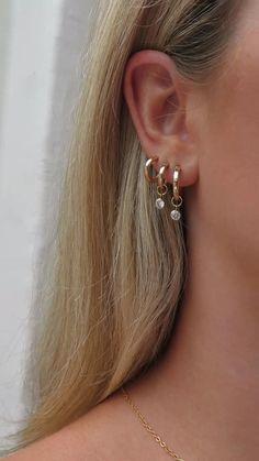 Caravan, Ear Piercings, Natural Stones, Bliss, Photo Ideas, Swarovski Crystals, Fashion Inspiration, Sparkle, Wedding Ideas