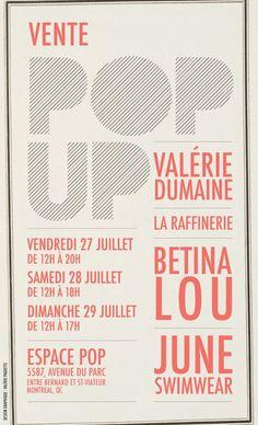#Fashion #'Montreal #VentePOP-UP