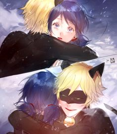 Miraculous Ladybug and Chat Noir  Marinette e Chat <3