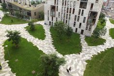 Amsterdam's Funenpark by LANDLAB is a park design for a high density (150…