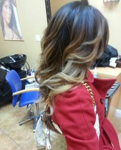 Love this hair color... ombre ombre ombre :)