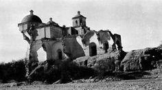 La Purísima Concepción de Caborca Mission after the 1917 flood
