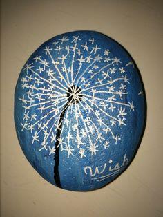 Wish painted rock wish maker #rimrocks