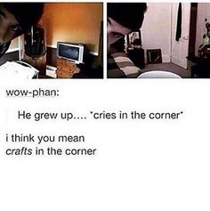 DON'T cry....CRAFT