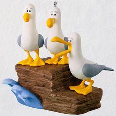 Disney/Pixar Finding Nemo Mine! Mine! Mine! Seagulls Hallmark Ornament With Sound 2018