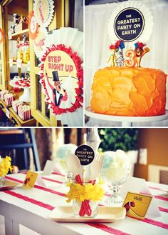 Vintage Circus + Madagascar 3 Inspired Birthday Party