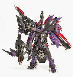 Custom Build: 1/100 Gundam Astray Violence Geist - Gundam Kits Collection News and Reviews