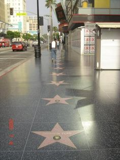 Hollywood Walk of Fame. Hollywood, California The must walking place for movie freak #2000, 2010, coming this sept'13