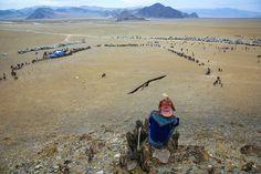 Golden Eagle Festival in Mongolia 05