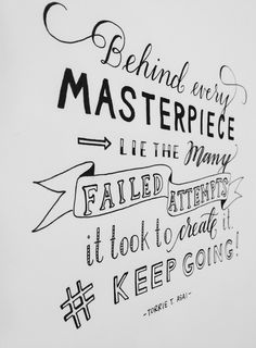 my quote is inked finally // 06.12.13 // pilot g2 #needtolearnillustrator!!