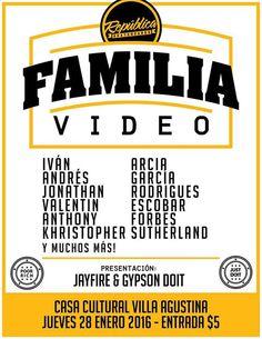 Teaser FAMILIA de República Skateboards