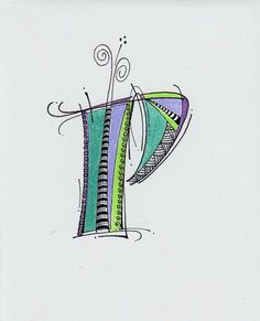 zen versals P by long village lettering, via Flickr