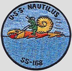 USS Nautius (SS-168) unit insignia patch