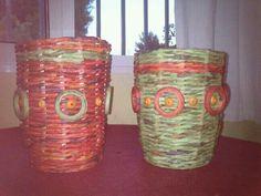 Duo de papel reciclado.