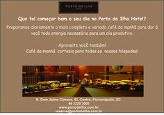 Café Manhã no Porto da Ilha Hotel