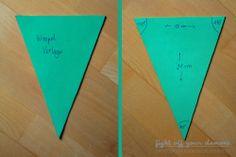 DIY: Fabric Bunting {Wimpelkette nähen}