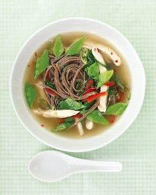 Asian Chicken Soup - Martha Stewart Recipes