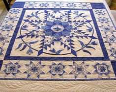 Feathered Star Quilt