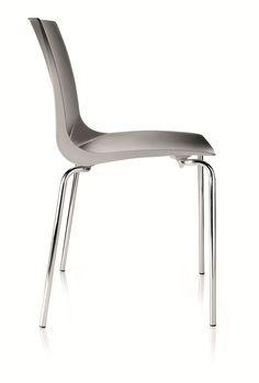 Cadeira de plástico para jardim para hotelaria com encosto alto MARE Coleção MARE by Vela Arredamenti | design Studio Progettazione Vela