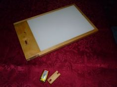 Picture of Make A Cordless Lightbox for about $20.00