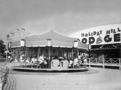 Holiday Hill amusement park, St. Louis... a picture of the other amusement park my dad owned with his brother in law...
