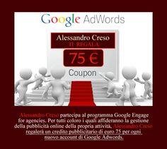 Scegli Adwords per la tua attività. Ti regalerò 75 euro di pubblicità su Google.