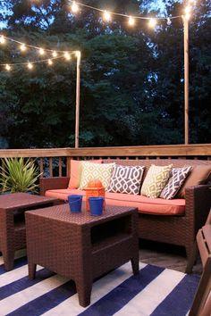25 inspiring ways to organize atmospheric outdoor lighting - Comfortable home