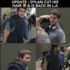 Dylan is back in L.A
