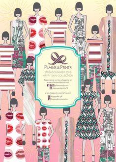 Lookbook - Plains and Prints Happy Skin, Spring Summer 2016, Prints, Movie Posters, Film Poster, Billboard, Film Posters