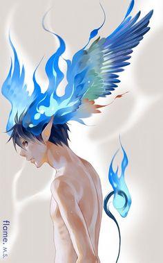Blue exorcist / rin