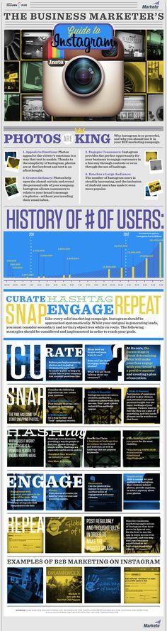 #INFOGRAFICA Ecco la Guida ad Instagram per marketer - The Business Marketer's #socialmedia #infographics