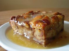 Bread Pudding with Whiskey Sauce | I just made this for Christmas and it had to be, hands down, one of the best things on the table