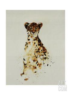 Cheetah Giclee Print by Sydney Edmunds at Art.com