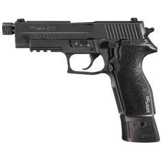 SIG Sauer P227 Tactical Semi Auto Pistol .45 ACP 4.4 Threaded Barrel 10 Rounds Alloy Frame Nitron Finish with Rail 227R-45-TAC