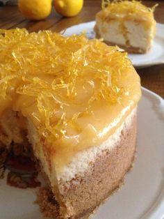 Limonlu Cheesecake / Lemon Cheesecake -İlk Tadışta Aşk