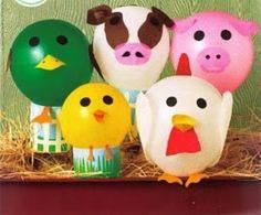 Anuncios           Los globos son muy fáciles de conseguir y a un buen precio, con ellos podemos hacer un montón de manualides y decoraci...
