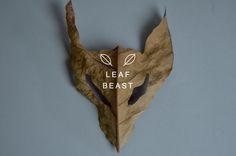 BAKU & IDEA — LEAF BEAST ( 葉獣 ) Artist: Baku Maeda Material...