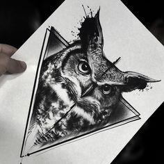 Wolf Tattoos, Animal Tattoos, Body Art Tattoos, Fish Tattoos, Tattoo Designs, Owl Tattoo Design, Owl Tattoo Drawings, Tattoo Sketches, Arm Tattoo