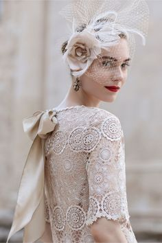 Femininity, intricacy & originality make lace evermore appealing, says @Amy-Jo Tatum With Bride Chic.
