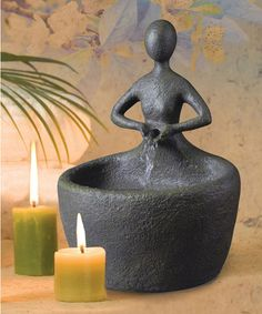 Take a look at this Mossy Bronze Roth Tabletop Fountain by Design Craft on #zulily today! Very zen like.