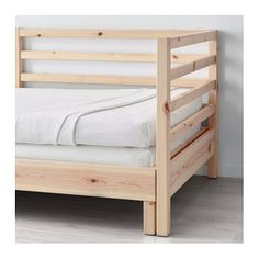 IKEA TARVA day-bed frame Two functions in one - chaise longue by day and bed by night.