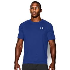 Men's Under Armour Tech Tee, Size: Medium, Blue