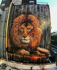 Boa tardeeeee! _Arte vinda de New York! !_♥♥ ##artederua ##grafites ##artenosmuros ##streetart - alaise gomes - Google+