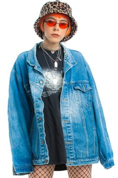 8d17e7b951 Vintage 90's Search & Destroy Denim Jacket - One Size Fits Many – Tunnel  Vision