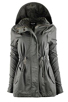 """Special Offer: $34.50 amazon.com """"PLEASE REFFER TO SIZE CHART IMAGES FOR EXACT SIZING!! It's the time of the year to grab a MUST HAVE Parka Jackets!! Looking for Everyday Anorak Parkas for Extra utility and mobility? Search No more & Add some new layering pieces, from Vii..."""