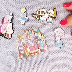 My Mary Blair pins #maryblair #disneypins #cherryblossomgirlindisneyland #cherryblossomgirlfashion