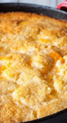 Two Two Easy Peach Cobbler - Made From Pinterest